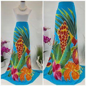 SARONG Pareo Lavalava Beach Skirt Summer Scarf